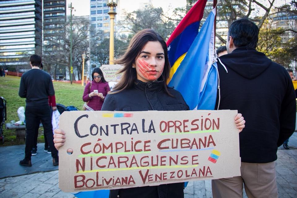 Desconocimiento del proceso electoral de Venezuela